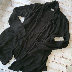 [h&m] lightweight hi-low open cardigan